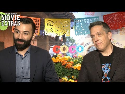 Coco (2017) Lee Unkrich & Adrian Molina Talk About Their Experience Making The Movie