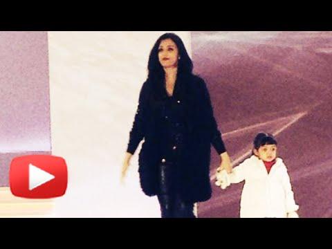 WATCH Aaradhya Bachchan Walk The Ramp With Aishwarya Rai