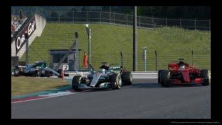 Gran Turismo™SPORT GT League Mercedes AMG Grand Prix Race 4 Broadcast