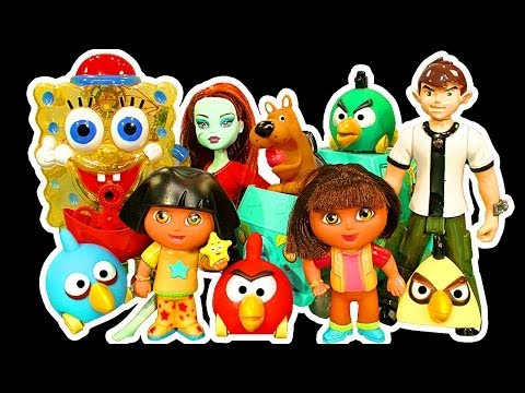 Dora Spongebob Scooby Doo Monster High Ben10 Spiderman Dark Side Knock Off Fail Toys & More