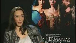 Las hermanas Bolena: Entrevista Ana torrent