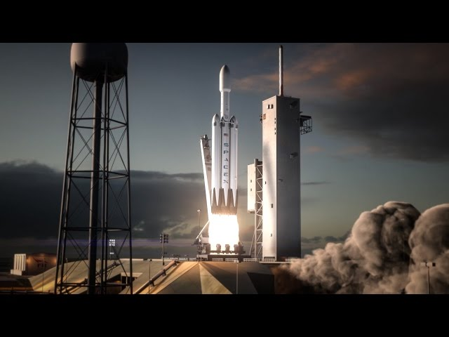 falcon heavy rocket concept-#16