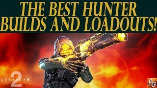 Destiny 2: The Best Class Builds And Loadouts For The Hunter! And Best Exotic Armor!