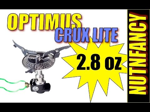 Optimus Crux Lite Micro Stove: Snow Review