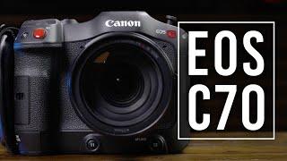 Canon Cinema EOS C70: A Portable, Versatile Cinema Camera! | First Look