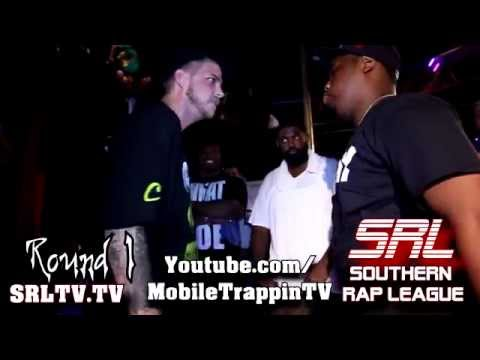 SRL SOUTHERN RAP LEAGUE Mic Spliff vs King Zay MAYDAY 2014