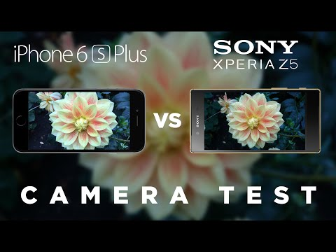 iPhone 6s Plus vs Sony Xperia Z5 Camera Test Comparison