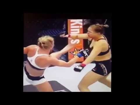 Holm noqueó a Ronda Rousey y se quedó con el título
