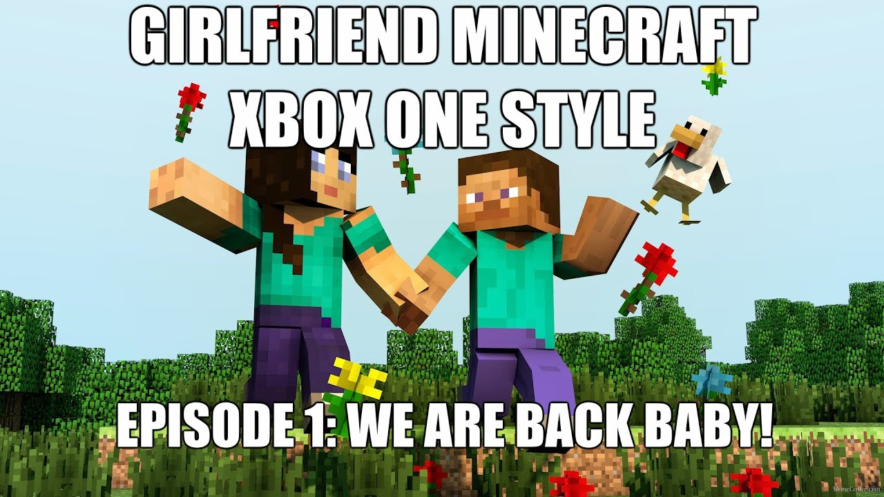 how to get a girlfriend in minecraft xbox one
