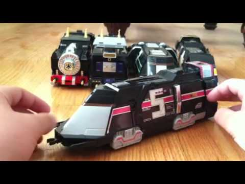 Power Rangers Lightspeed Rescue DX Supertrain Megazord