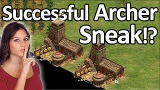 Successful Archer Sneak!?