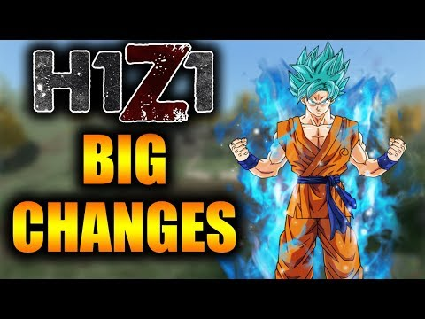 BIG changes coming to H1Z1 SOON! New Movement, AK-47 Spray NERF and More!