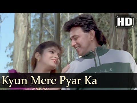Kyun Mere Pyar Ka   Sikandar Sadak Ka Songs   Mithun Chakraborty   Anjana Mumtaz   Love   Filmigaane