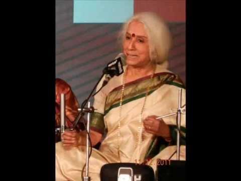 Doyen of Classial Music Dr. Prabha Atre Raga Miyan Malhar