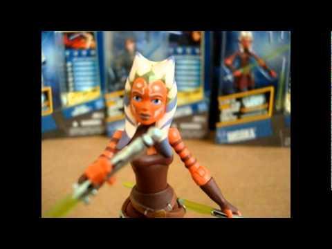 Star Wars the Clone Wars (Ahsoka Tano) 2011 figure review