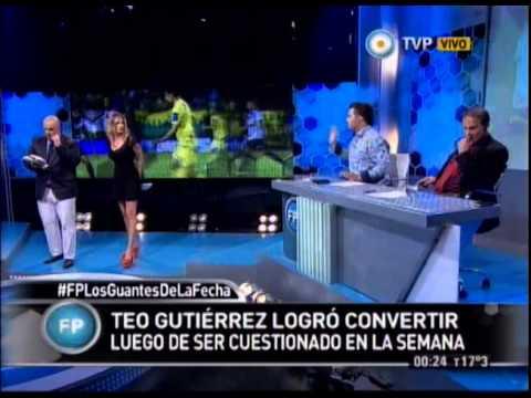 Debate: Teó Gutiérrez logró convertir luego de ser cuestionado en la semana - 22-03-15