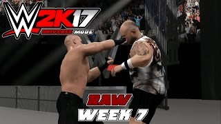 WWE2K Universe Mode I Raw The Reality Era (Raw Week 7)