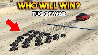 GTA 5 ONLINE : TUG OF WAR (WHO WILL WIN?)
