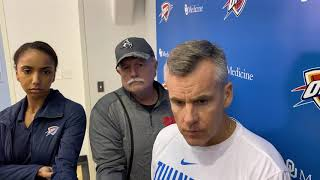 Billy Donovan on Andre Roberson's rehab