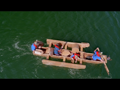 Will Teamwork Be The Winning Factor in this Cardboard Boat Race? | MythBusters: The Search