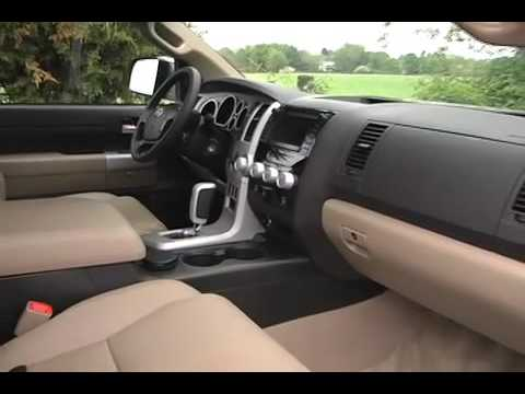 Toyota Tundra CrewMax Limited Interior Review