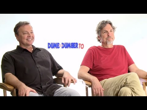 Bobby Farrelly & Peter Farrelly - Dumb And Dumber To Interview HD
