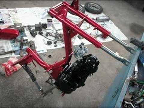 Garelli com motor de Bizz