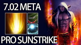 7.02 META How Pro Sunstrike ANA Invoker Dota 2
