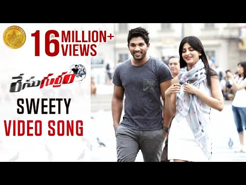Sweety Song - Race Gurram ᴴᴰ Full Video Songs - Allu Arjun, Shruti Haasan, S Thaman - Official Songs video