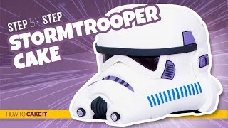 How To Make a STORMTROOPER CAKE | Step By Step | How To Cake It | Yolanda Gampp