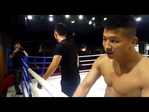 八卦掌挑機泰拳 老拳師被7連拳打到投降