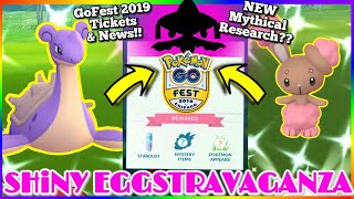 🚨 LiVE 🎟 How to get GO FEST 2019 tickets | NEWS 🌎 Shiny Egg EVENT | POKEMON GO iN NYC🗽