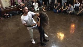 William Teixeira and Paloma Alves Brazilian Zouk Demo LA Zouk Festival 2019