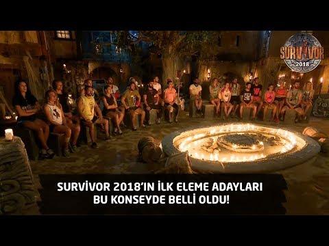 Survivor 2018 | 7. Bölüm |  Survivor 2018'in ilk eleme adayları bu konseyde belli oldu!