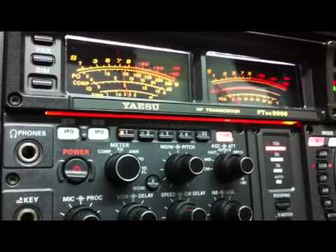 EI9HX QRP 5W VE3NGW HAM RADIO  YAESU FTDX-9000