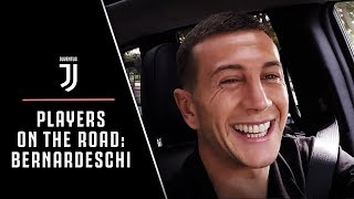 JUVENTUS PLAYERS ON THE ROAD: FEDERICO BERNARDESCHI | EXTENDED VERSION