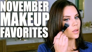 NOVEMBER MAKEUP FAVORITES | Tati Westbrook