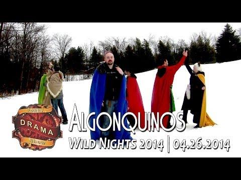 Wild Nights FDS: Algonquinos