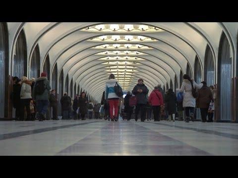 Московское метро глазами британца - BBC Russian