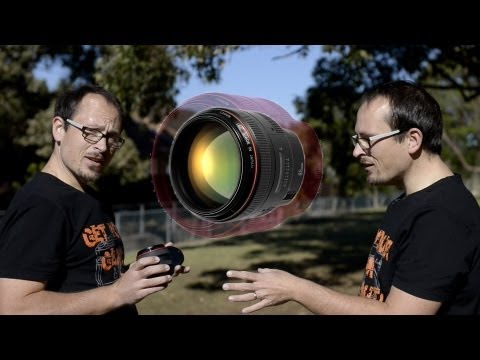 Lens Porn - Canon 85mm F1.2l video