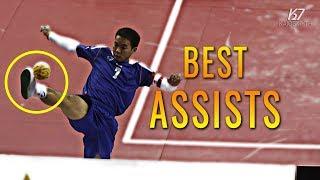 Sepak Takraw ● 40 Best Assists in Sepaktakraw | HD
