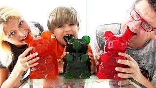3x World's Largest Gummy Bear 15 pound of Fun