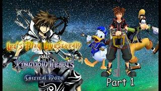 The adventure begins...Critical Mode! - Let's Play Kingdom Hearts 3 Critical Mode Part 1 + Q&A