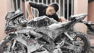 Lần Đầu Rửa Xe Kiểu Này Với Máy Rửa Xe HIROMA