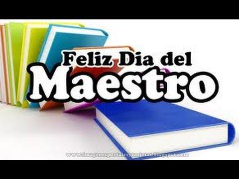 Gracias Maestro Feliz Día