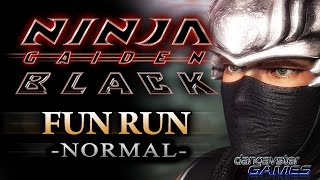 NINJA GAIDEN BLACK - FUN RUN! [NORMAL]