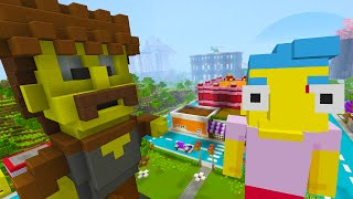 Minecraft Xbox - The Simpsons Chase - Minecraft Roleplay [2]
