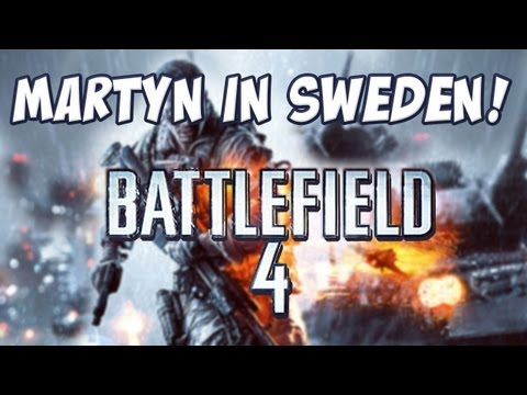 Martyn In Sweden - Battlefield 4 Announcement