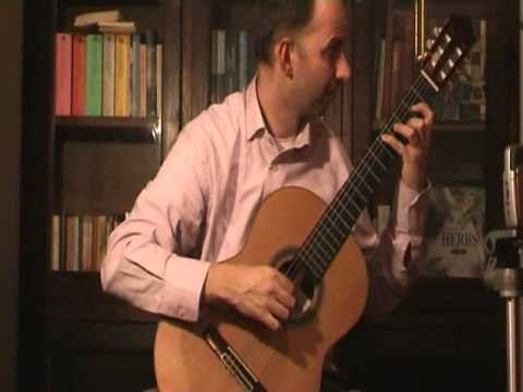 Fernando SOR - Estudio en D Major, N°17, Op. 35