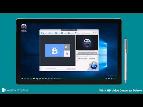 WinX HD Video Converter Deluxe, il miglior software per convertire i video